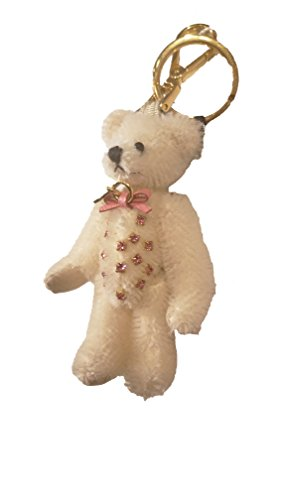 Prada Women's White Teddy Bear Charm 1TO001