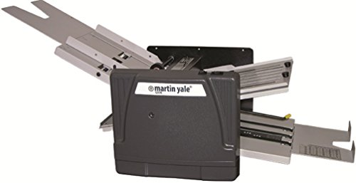 Martin Yale 1217A Automatic Folder; 10300 Sheets/hour; 7 Folds Types: Z, Half, Letter, Baronial, Right Angle, Double Parallel by MARTIN YALE