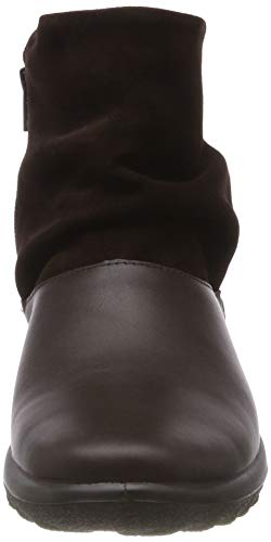 Mujer Gtx Whisper Marrón chocolate 014 Plisadas Para Hotter Botas xqSwp5dXX