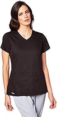 Barco Grey's Anatomy Active 4-Pocket V-Neck Top for Women – Modern Fit Medical Scrub