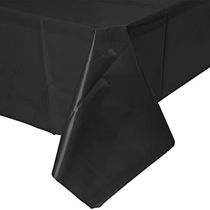 Amazon Com Mountclear 12 Pack Disposable Plastic Tablecloths 54 X