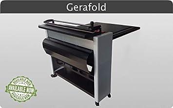 Dobladora plegadora de papel para plotter GeraFold 218 . Dobla ...