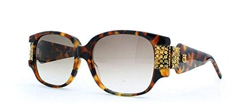 Emmanuelle Khanh 2020 ST2 0527 Brown Authentic Women Vintage Sunglasses (Khanh Emmanuelle)