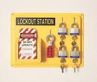(Honeywell LSE104F 4 Complete Lockout Station )