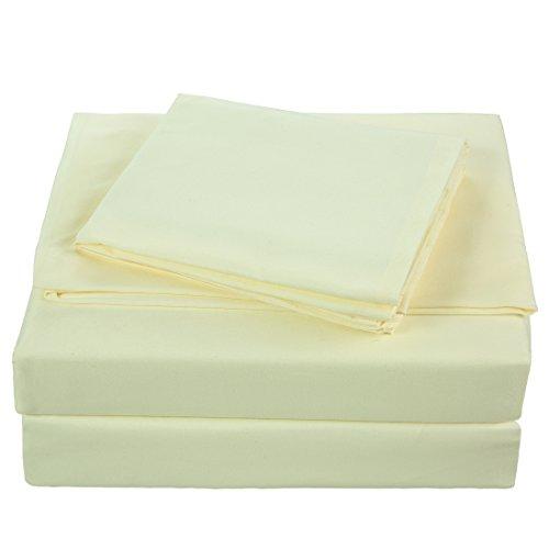blc bed sheet set hypoallergenic microfiber 4 piece. Black Bedroom Furniture Sets. Home Design Ideas