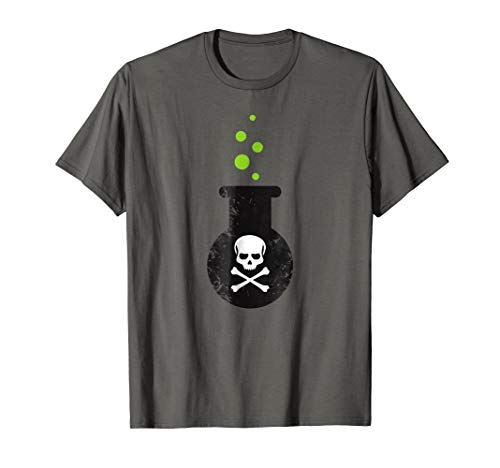 Skull Poison Bottle Witch Potion Funny Halloween