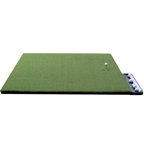 Gorilla Perfect Reaction Golf Mats. Use Real Wood Tees. at Last a No Bounce, Hit Down Through Golf Mat. The Next Generation in Golf Mats. No Rubber Tees Required. No Club Shock