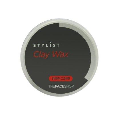 The-Face-Shop-Stylist-CLAY-WAX-80g-Strong-Hold-Hair-Wax-VM-Korea-Samples
