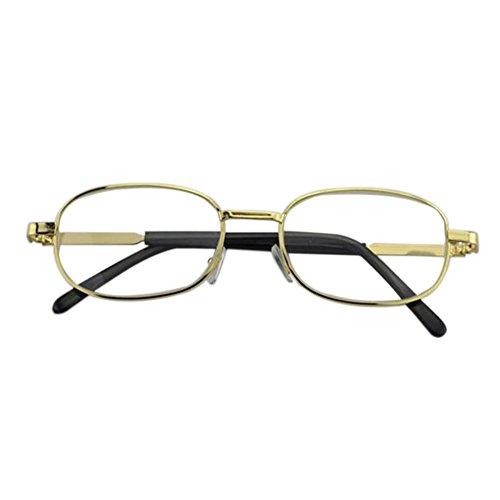 Unisex Light Resin Metal Frame Reading Glasses +1.0 - 1