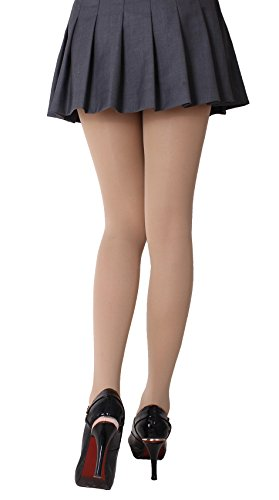 CozyWow Semi Opaque Footed Tights Stockings