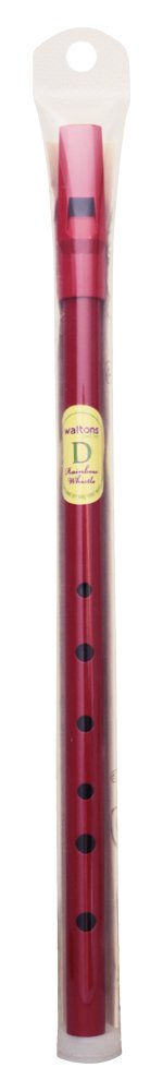 Waltons 08AWAL-1564P D Whistle - Red Waltons Irish Products