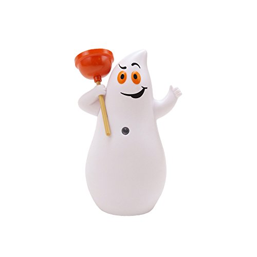 Hallmark Jokin in The John Ghost Figurine, Motion-Activated Humor Figurine, Plays 7 Spooky Phrases, Halloween