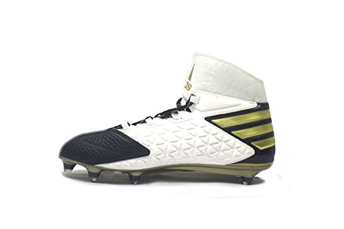 Uomo Adidas Sm Freak Alta D Tacchetti Da Calcio Fredda Blu / Metallico Oro / Bianco