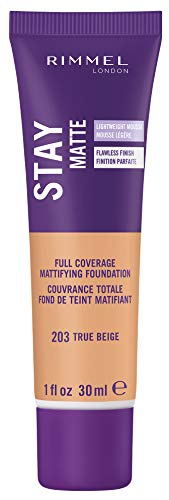 - Rimmel Stay Matte Foundation, Sand, 1 Fluid Ounce (packaging may vary)