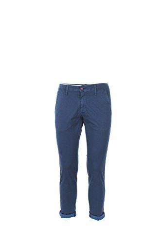 Pantalone Uomo Squad 50 Blu Gbc8052 Primavera Estate 2017