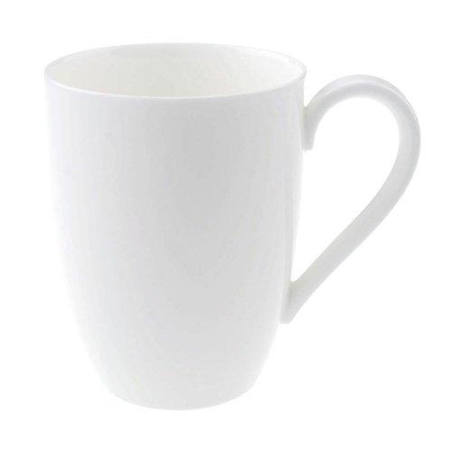 Villeroy & Boch 16-3272-9651 White Porcelain 11.75 oz Mug - 6 / (11.75 Ounce Mug)