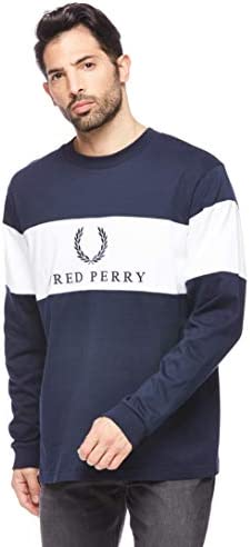 Fred Perry M5510-CONTRAST Panel T-SHIRT-100-M Camiseta de Manga ...