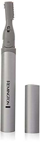 Remington MPT3600 Dual Blade Precision Trimmer, with Pivoting Head & Eyebrow Trimming Comb, Facial Hair Trimmer (Batteries - With Small Eyes Men