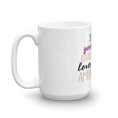 (She's A Good Girl. 15 Oz Mugs Made Of Durable Ceramic With An Easy Grip Handle.This Coffee Mug Has A Hefty But Classic Feel)