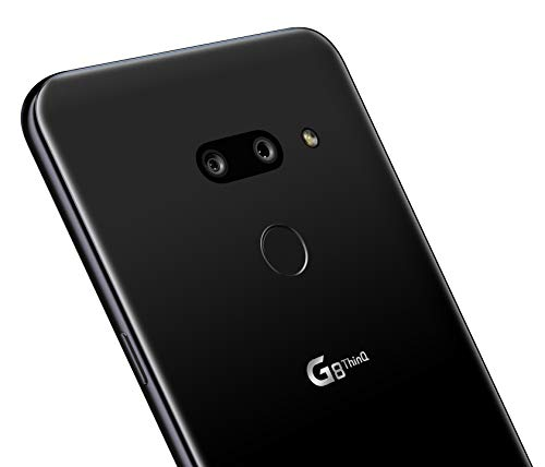 LG G8 ThinQ with Alexa Hands-Free – Unlocked SMARTPHONE – 128 GB – Aurora Black (US Warranty) – Verizon, AT&T, T–Mobile, Sprint, Boost, Cricket, & Metro