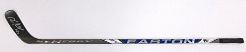 MILAN HEJDUK Signed COLORADO AVALANCHE Game Used Stick EASTON SYNERGY ST - w/COA - Autographed NHL Sticks