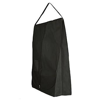 Hangerworld Funda para Traje de Novia 183cm Negro con Asa Larga Transpirable Bolsillo Complementos: Amazon.es: Hogar