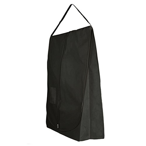 HANGERWORLD Black Wedding Dress Bridal Gown Travel Carry Cover Bag - Showerproof & Breathable - 72 Inches by HANGERWORLD
