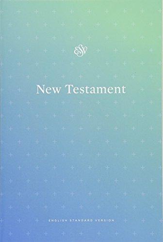 Holy Bible: English Standard Version Outreach New Testament, Blue]()