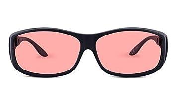 91c3e059545c8 Amazon.com  TheraSpecs WearOver Migraine Glasses for Light ...