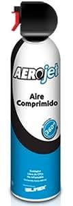 Silimex AeroJet 360° Keyboards Equipment cleansing air pressure cleaner 440ml - Kit de limpieza para ordenador (Equipment cleansing air pressure cleaner, Keyboards, 440 ml, Azul, Color blanco, 1 pieza(s))