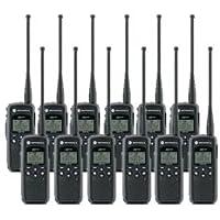 12 Pack of Motorola DTR550 Two way Radio Walkie Talkies