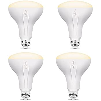Sengled Element BR30 Smart Flood Light Bulbs, Compatible with SmartThings, Wink and Echo Plus, Requires Hub for Amazon Alexa and Google Assistant, Dimmer Incompatible(4 Pack)