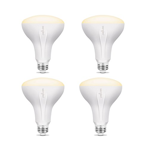 Sengled Element Classic BR30 Smart Home LED Floodlight Bulb, Compatible with SmartThings, Wink and Echo Plus, Requires Hub for Amazon Alexa and Google Assistant (4 Pack) - 4 Light Elements