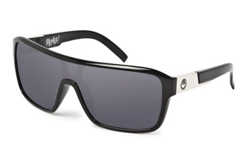 Dragon Remix Sunglasses Jet/Grey, One Size