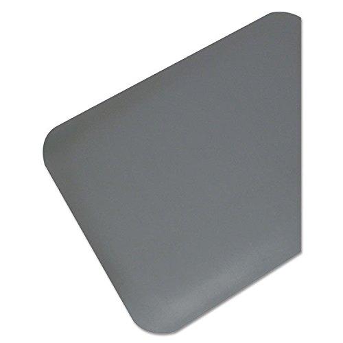 Pro Top Anti-Fatigue Mat, PVC Foam/Solid PVC, 36 x 60, Black (Top Pvc Foam)