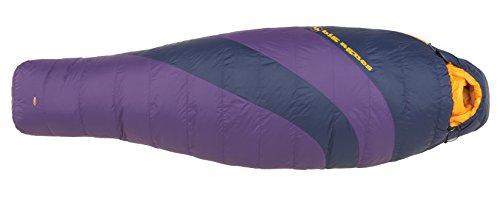 Big Agnes Mirror Lake 20 Degree Sleeping Bag – Women's Grape / Navy Regular / Right Zip For Sale