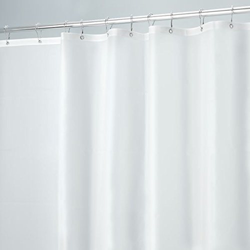 mDesign Mildew Resistant 10 Gauge Heavy Duty Curtain
