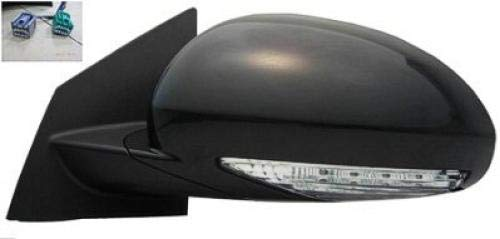 Go-Parts OE Replacement for 2008-2015 Buick Enclave Side View Mirror - Left (Driver) 25867058 - Buick Enclave Side Drivers Mirror