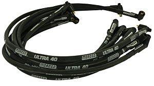 Moroso 73818 Ultra 40 Black Plug Wire Set by Moroso