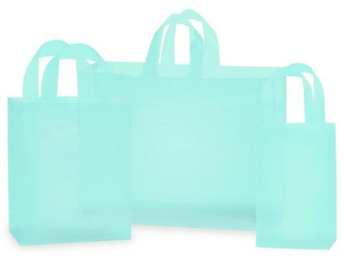 Aqua Frosted Bag ASSORTMENT25 Rose, 50 Cub, 25 Vogue 1 unit, 100 pack per unit.