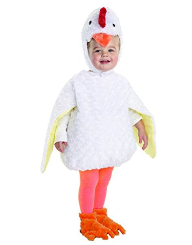 Underwraps Baby's Chicken Belly-Babies, White, X-Large (Baby Chicken Costumes)