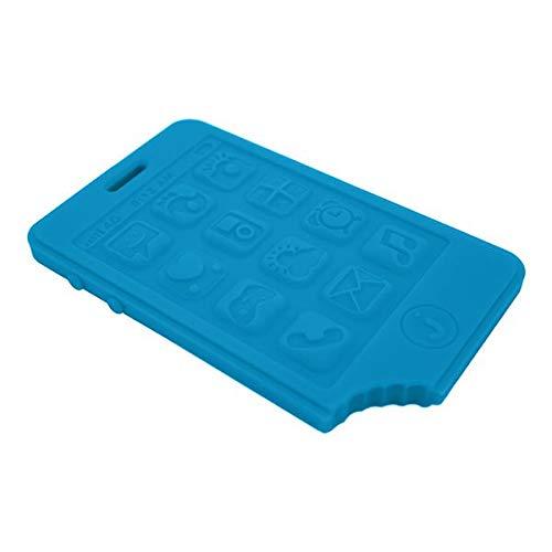 Jellystone Smart Phone Teether, Blue Hawiian by Jellystone Designs   B016JQPNOQ