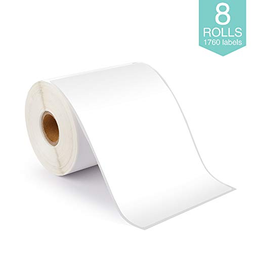 8 Rolls Compatible with Dymo 1744907 Shipping Labels -4