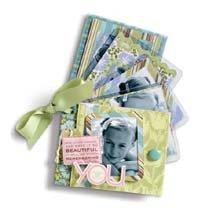 K & Company Amy Butler Mini Book Kit (Mini Scrapbooking Kit)