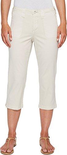 Twill Crop (NYDJ Women's Chino Twill Crop Pants, Clay, 16)
