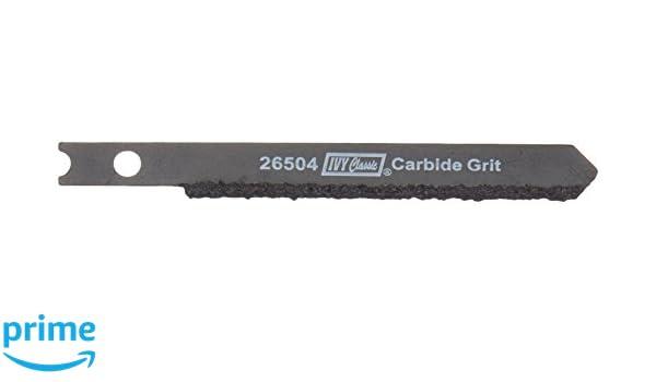 "IRWIN  3071300 U Shank 3/"" Carbide Grit Jig Saw Blade"