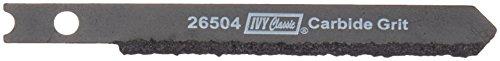 (IVY Classic 26504 Carbide Grit 3-Inch U-Shank Jig Saw Blade, 1/Card)