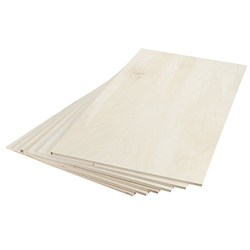 887682 Birch Plywood 6mm 1/4 x 12 x 24  (6)
