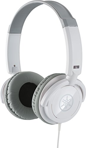 Yamaha HPH-100WH Dynamic Closed-Back Headphones