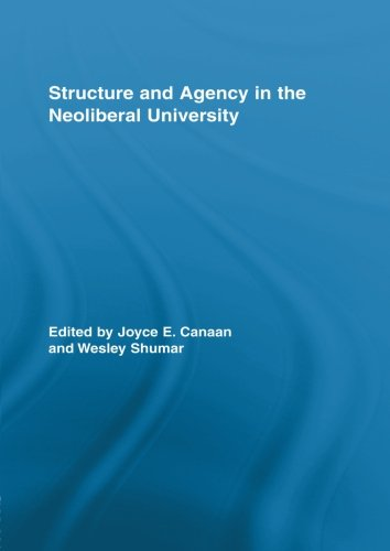 Structure and Agency in the Neoliberal University (Routledge Research in Education)